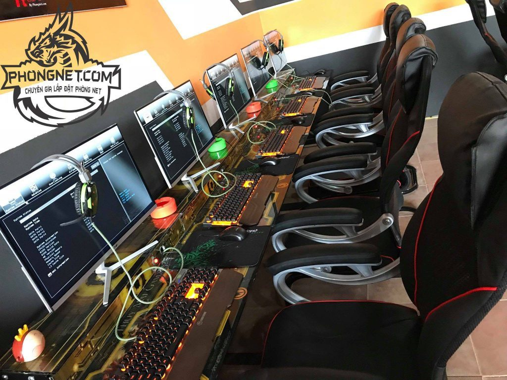 lắp đặt phòng net tại Bắc Giang 2