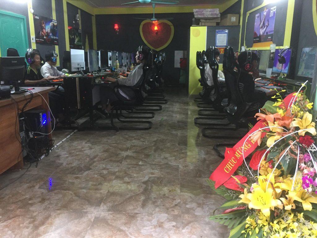 lắp đặt phòng net trọn gói tại Bắc Ninh