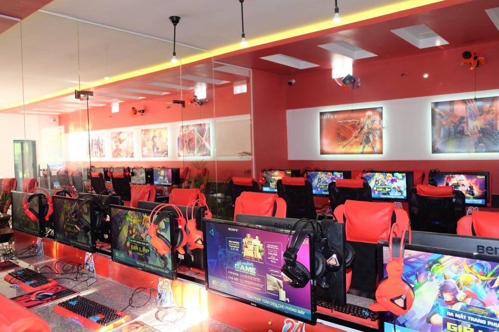 lắp đặt phòng net giá rẻ tại Bắc Giang
